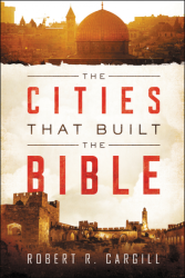 Book cover showing Middle Eastern cityscapes